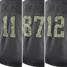 Men's Brady Adult Jerseys Edelman Gronkowski Jerseys Julian Anthracite 2016 Salute to Service Jersey Black Camo(China (Mainland))