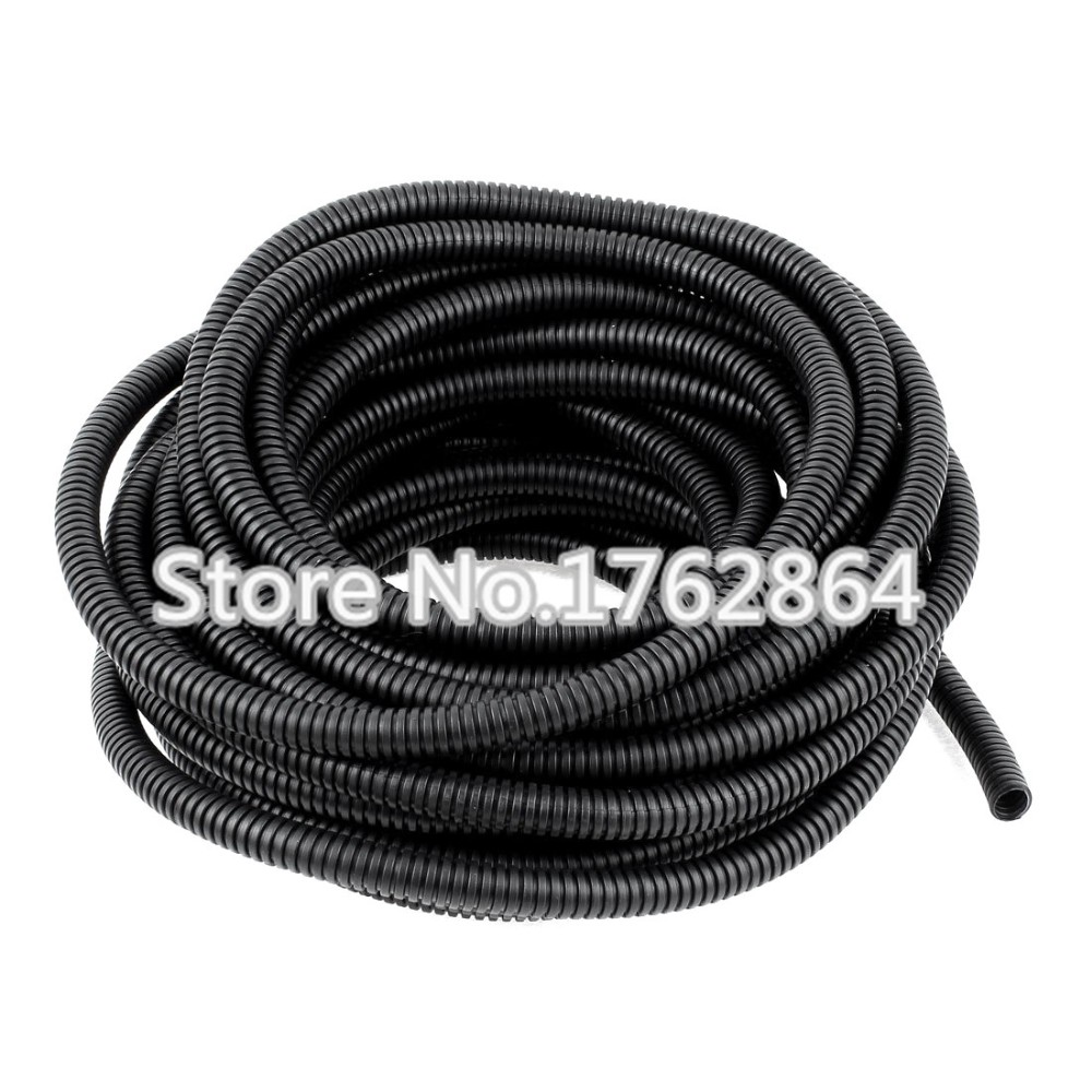 5m Lot Pe Plastic Corrugated Pipead10 Fiber Optic Cable To Protect Pit Bike Ignition Stator Mag O Plate Besides Ssr 110 Wiring The Hosecable Sheathing Sleeve Us552