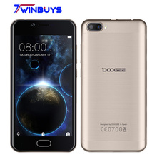 """Buy Doogee Shoot 2 android 7.0 Mobile Phone Dual Rear Camera 5MP 5.0"""" MTK6580A Quad Core 2GB+16GB 3360mah Fingerprint 3G Smartphone for $74.99 in AliExpress store"""