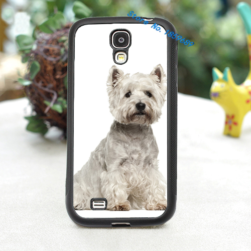 West Highland White Terrier fashion cover case for samsung galaxy s3 s4 s5 note 2 note 3(China (Mainland))
