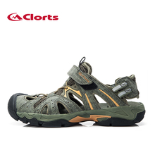 Clorts 2015 New PU Mesh Men Sandals Spring Summer Beach Sandals Outdoor Casual Sandals for Men SD-207B(China (Mainland))