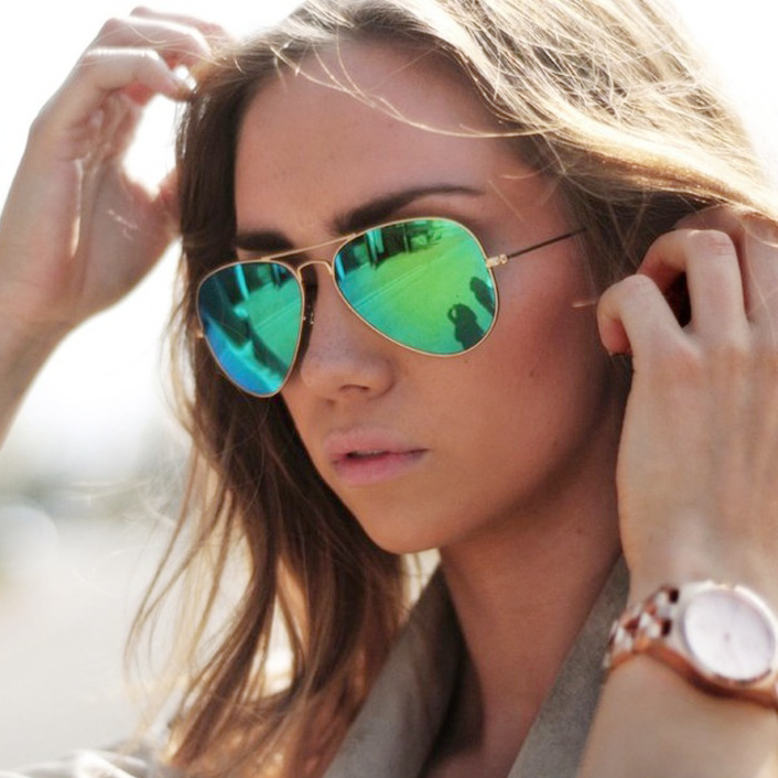 Mirrored Aviator Sunglasses  mirrored aviator sunglasses for women global business forum iitbaa