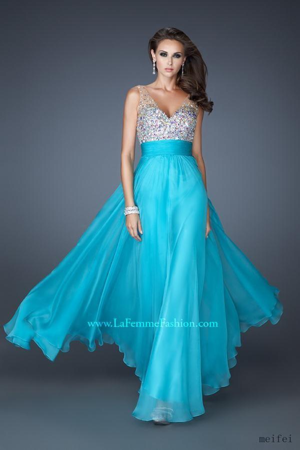2015 New style elegant V neck line Bridesmaids Dresses Party Dresses prom dress stock Size 6