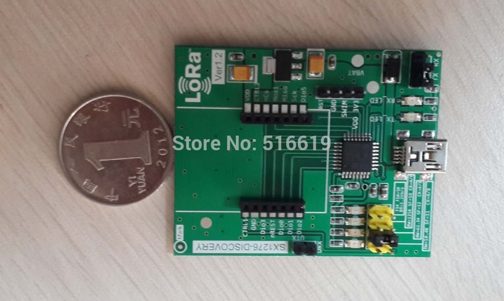 Free shipping SX1276/SX1278 transceiver module test in ultra long distance wireless data transmission module in project learning(China (Mainland))