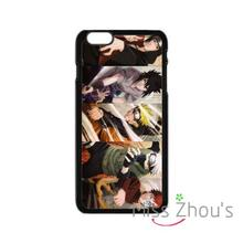 For iphone 4/4s 5/5s 5c SE 6/6s plus ipod touch 4/5/6 back skins mobile cellphone cases cover Japanese Amine Naruto
