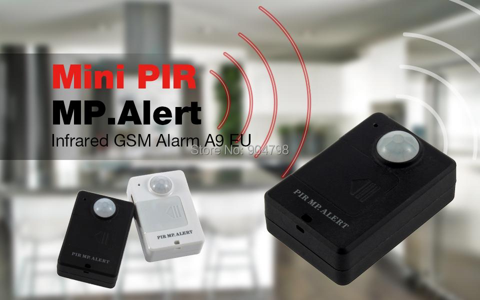 1pcs mini Wireless PIR Infrared Sensor Motion Detector GSM Alarm System Anti-theft YKS(China (Mainland))