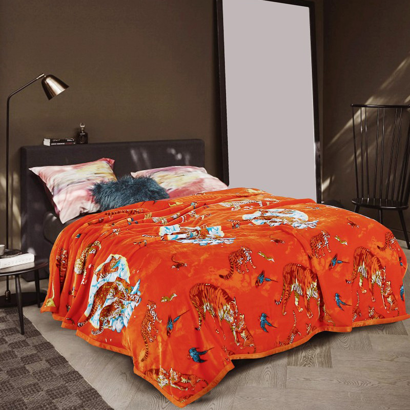 online kaufen gro handel tiger decke aus china tiger decke gro h ndler. Black Bedroom Furniture Sets. Home Design Ideas