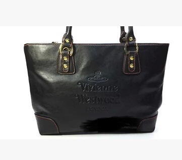 Genuine Leather Ladies handbag Women's new fashion Satchel Handbag patent tote shoulder bag vivian Women Messenger Bags(China (Mainland))