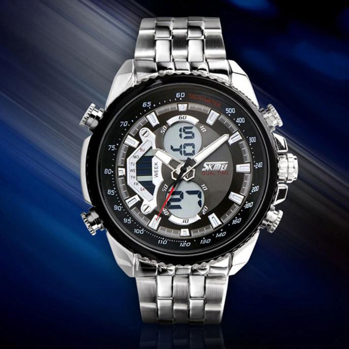 SKMEI 993 мужские кварцевые наручные часы