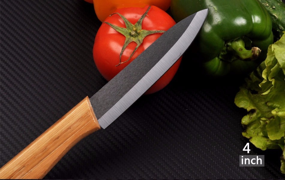 Buy Kitchen six sets of ceramic knife and fruit knife gift kitchen knife set of ceramic knife cheap