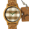F28 BOBO BIRD Fashion Luxury Men s Bamboo Watches With Genuine Cowhide Leather Japan Movement Bamboo