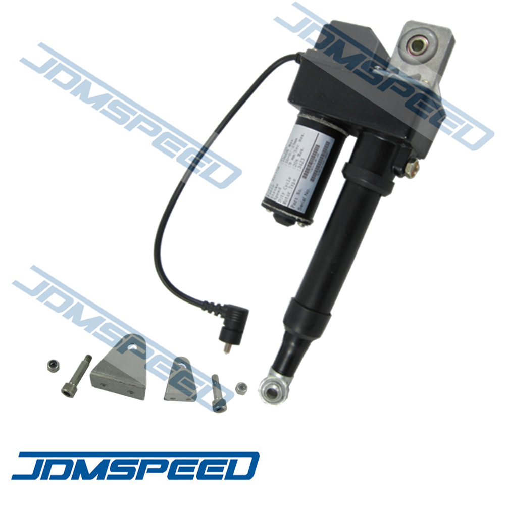 Jdmspeed New 2 Linear Actuator 225lb Adjustable Stroke 12