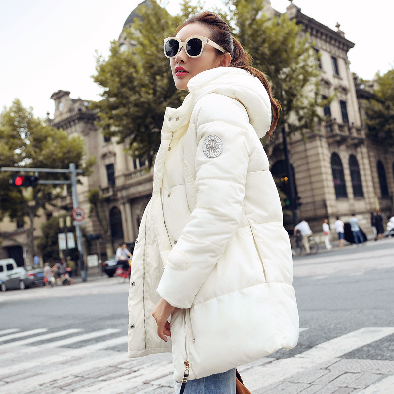 Plus-Size New 2016 Long Parkas Female Women Winter Coat Thick Down Cotton Winter Jacket Women Outwear Parka For Women Winter(China (Mainland))