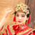 Ying Qin Traditional Chinese Wedding Bride Hair Tiaras for Xiuhefu Hair Accessory Set for Costume