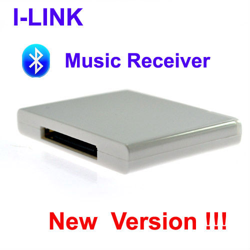 i-Link A2DP Newest Bluetooth Music Receiver Stereo Audio Adapter forBose SoundDockphilip, SONMUSE, ihome speakers -Free Shipping(China (Mainland))