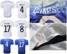 Top! Thai best Quality 2015 2016 soccer jersey USA, 15 16 BRADLEY ALTIDORE ZUSI  DEMPSEY DISKERUD GREEN JONES football shirt(China (Mainland))