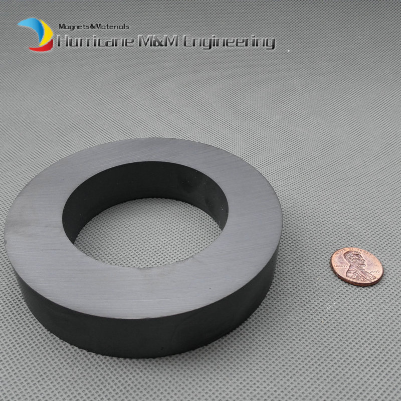 Ferrite Magnet Ring OD 100 x ID60 x 20mm 4 large grade C8 Ceramic Magnets for DIY Loud speaker Sound Box board home use<br><br>Aliexpress