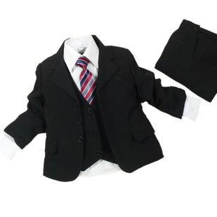 Quality suit male child formal dress child suit costume compound fabric boy blazer(China (Mainland))