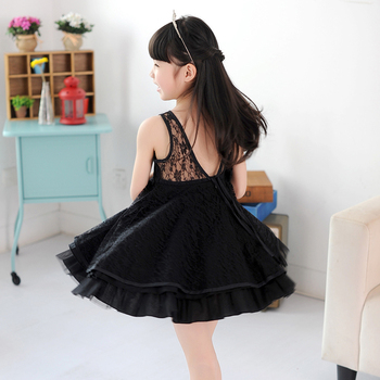 new girls kids full lace dress high quality girl's ballet dresses summer clothing for party dance free shipping