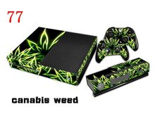 CANABIS WEED Sticker Wrap Decal Cover For Xbox One Console