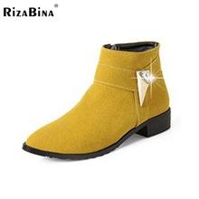 Tamaño 30-49 mujeres planas media corta botas de nieve de invierno de color del arco iris de arranque moda calzado botas cálidas zapatos feminina P19472(China (Mainland))