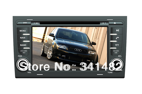 CAR DVD PLAYER WITH GPS FOR AUDI A4 2002-2008 / SEAT EXEO 2010- Navigation Radio TV Free Maps - Shenzhen TomTop E-commerce Technology Co., Ltd. store