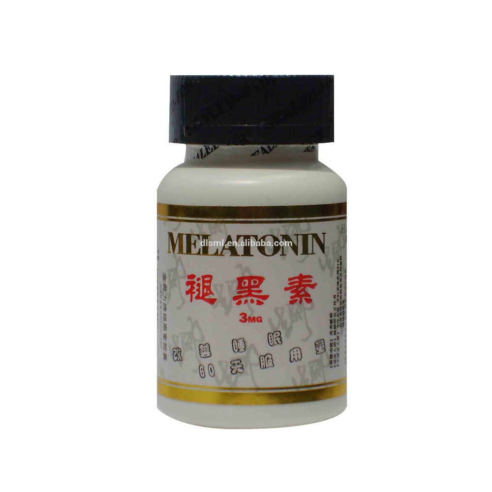 6 bottles melatonin Soft Capsule Improve health anti aging/protect prostate/Improving sleep