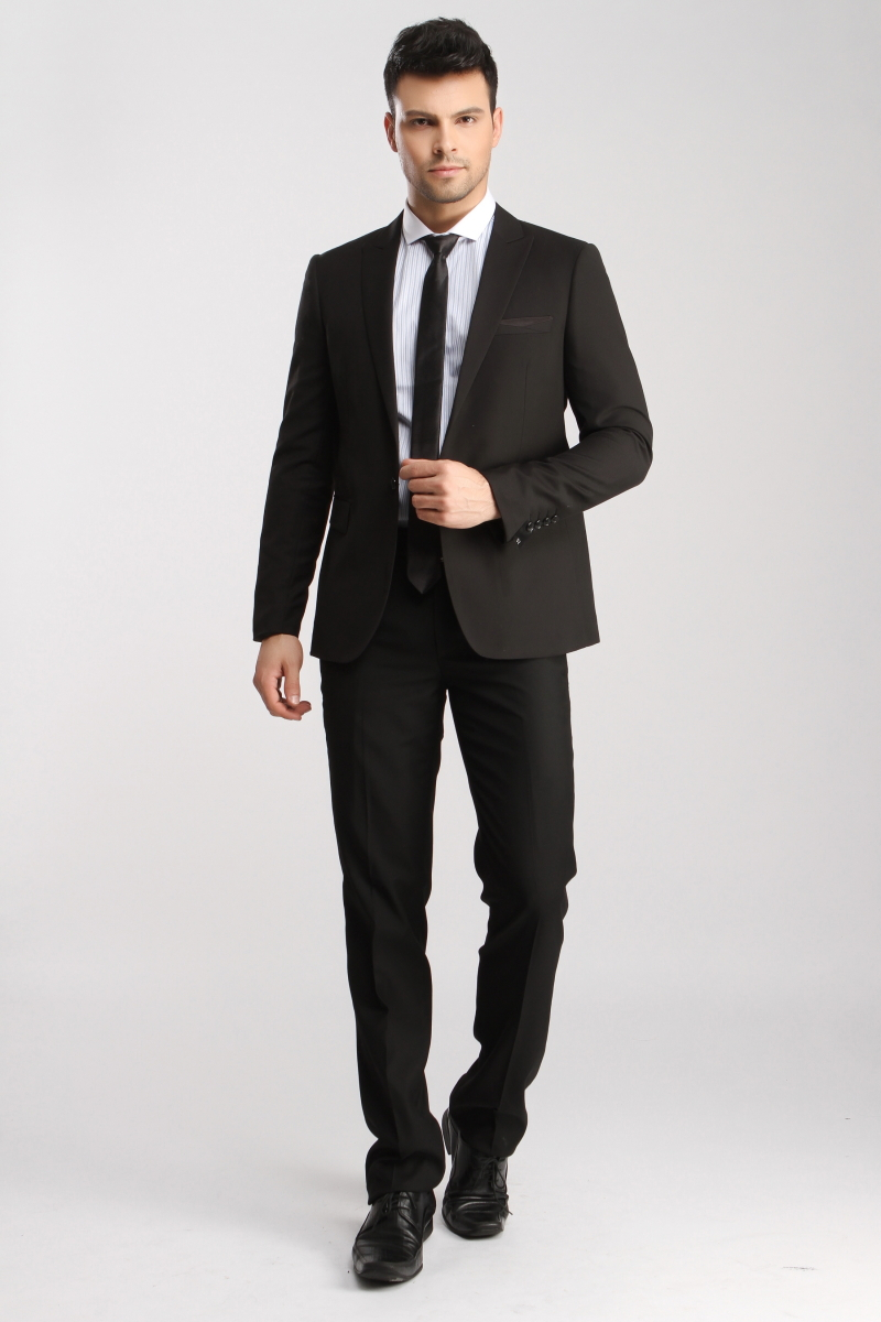 Mens suits tuxedo for male models picture for Dress suits for wedding