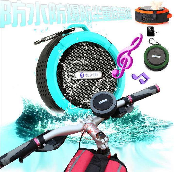 2.1 speaker,Rugged waterproof bluetooth stereo shower 2.1 speaker Outdoor / Shower 5W Driver 2.1 speaker(China (Mainland))