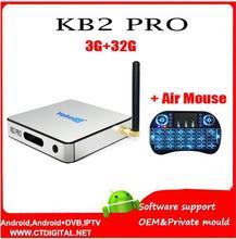 Yokatv KB2 PRO 3GB+32GB Android 6.0 TV Box Amlogic S912 Octa core Android Tv Box Dual WiFi smart tv box