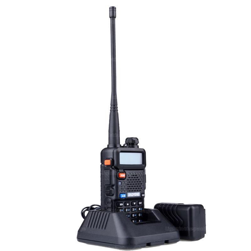 Baofeng uv-5r 8W ptt walkie talkie uv-8HX sister pmr radio walk talk bf-a58 uv5r uvb2 plus uv-b5 tyt cb radio+antena+car charger (3)
