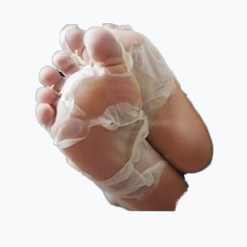 7pair/lot Kawaii Feet - Exfoliating Foot Mask - Removes Calluses To Reveal Baby Soft Feet Foot Care Socks For Pedicure(China (Mainland))