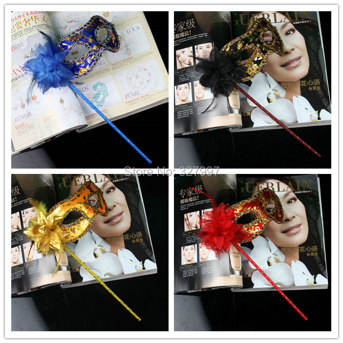 Factory mask Halloween mask party venice mask fancy mask painting with flower MS-WS86 10pcs/lot