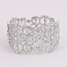 Buy Bridal Bangle Rhinestone Wedding Bracelet,Crystal Bracelet,Wedding Bangle for $8.49 in AliExpress store
