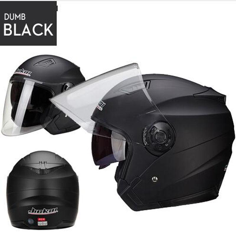 Unisex Genuine JieKai Helmet Dual Lens Motorcycle Helmet Scooter Motos Helmets Casco Capacete Four seasons