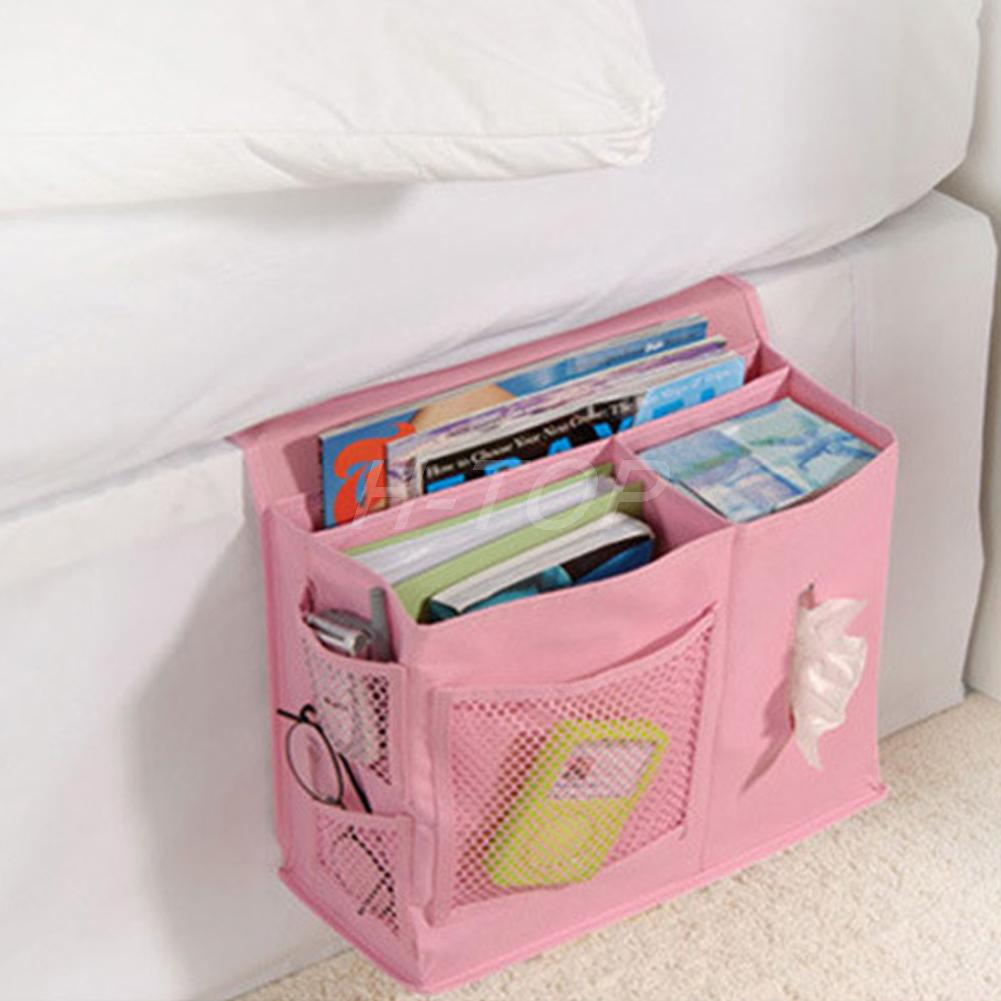 Bedside Storage Caddy 6 Pocket Bedside Storage