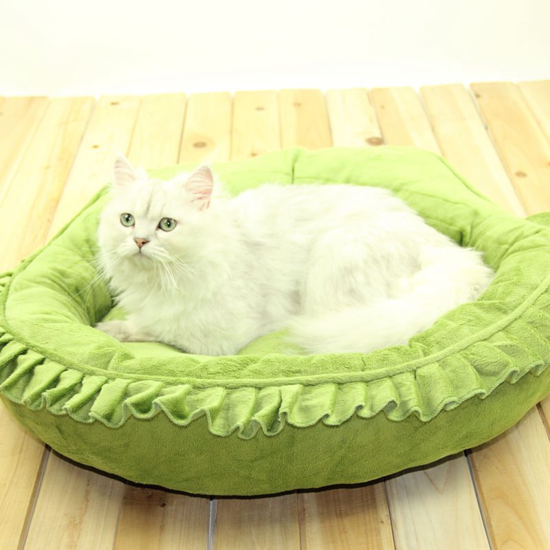 Pet Shop Supplies 2015 New arrival princess dog bed Lovely Cats houses warm doghouse sofa pet bed Washable Mattress cushion(China (Mainland))