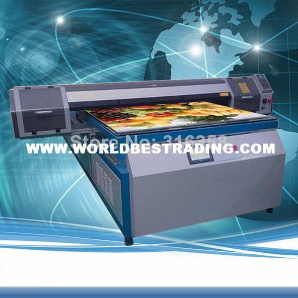 [K-PRINT] 6 Years Experience-White Ink Printer UV Cured Printer-Dual Head Big Format LED UV Printer EPSON DX5 Head Multifunction(China (Mainland))