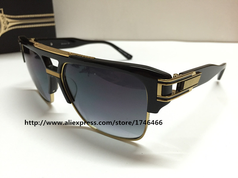 New Dita sunglasses dita grandmaster four women brand designer Semi metal frame and plate collocation limited edition(China (Mainland))