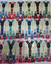 2015 New Fashion 1 Inch Clip-On Boys/Girl Cartoon Animals Print Suspenders  For Kids/Children(China (Mainland))