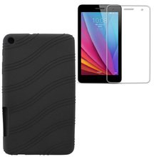 """Buy 1x Screen Protector, Ultra Slim Luxury Soft Cover Smart Shell Silicone Case Huawei Mediapad T1 7.0 T1-701u T2-7 BGO-DL09 7"""" for $6.29 in AliExpress store"""