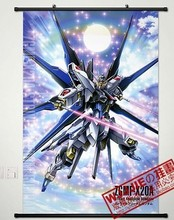 Wall Scroll Poster Fabric Painting For Anime (90*60)-045 seed MOBILE SUIT GUNDAM