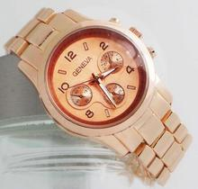Buy High Geneva Brand Watch Japan Mov Stainless Steel Wrist Watch Men Women Ladies Quartz Watch G-2 for $6.99 in AliExpress store