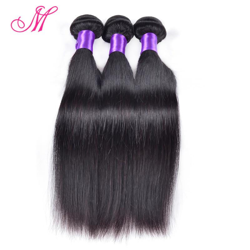 7A Grade Malaysian Virgin Hair Straight 3 Bundles Unprocessed Virgin Malaysian Hair Malaysian Straight Hair Human Hair Weave HC(China (Mainland))