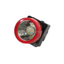 12pcs/lot Hot Sale Red Ring LED Headlamp Miner Light(China (Mainland))