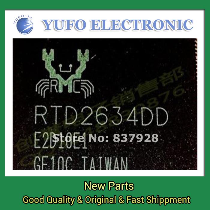 5PCS   new original authentic  RTD2634DD LCD chip [be]  Free Shipping YF0730