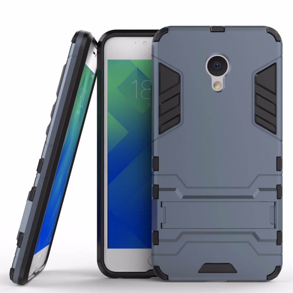 Keysion Case Meizu M5 mini Meilan 5 PC + Silicone Dual Layer Iron Man Armor Shield 3d Cover Meizu Meilan M5 mini