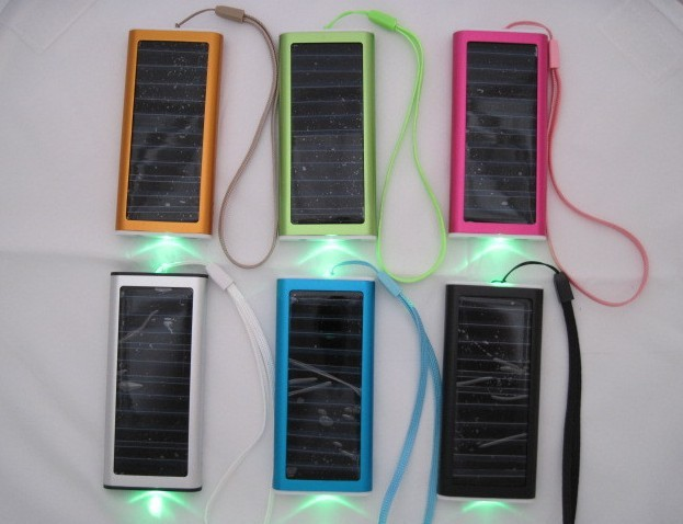Free shipping 1pcs Brand New Solar Battery Panel USB Charger, mobile phone solar charger Adapter ( 6 colors to choice)