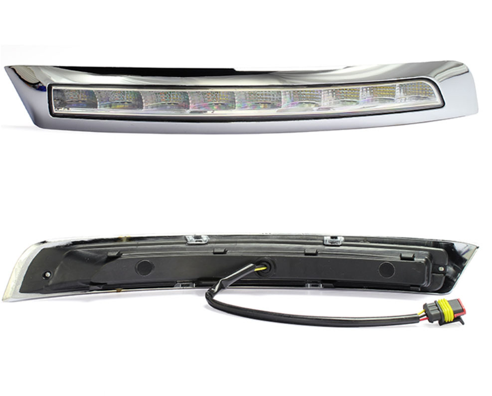 LED DRL Daytime Running Light with dimmer function case For VOLVO XC90 2007 - 2013(China (Mainland))