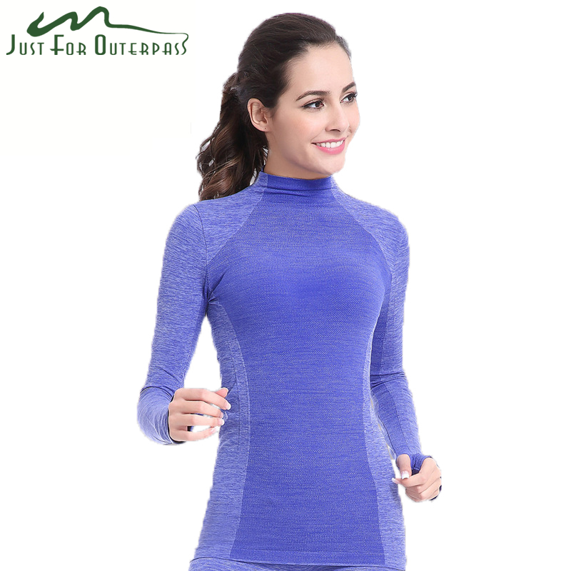 2016 New Women's Winter Coolmax Thermal Underwear Quick Dry Breathable Thermal High Quality For Leisure Sport Running Fitness(China (Mainland))